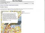 紐約時報如何用Google Map實踐網路新聞