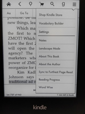 Kindle Word Wise 生詞提示設定