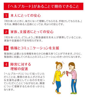 東京都的Help Card